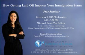 How Getting Laid Off Impacts Your Immigration Status