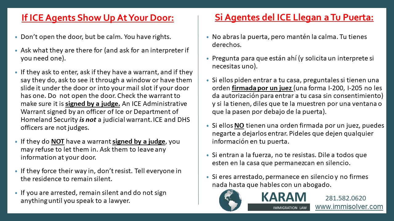 If ICE Comes to your door (1)